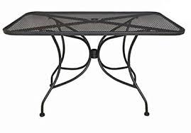 steel mesh outdoor table tops