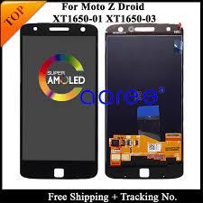 Tracking No. <b>100</b>% <b>tested For</b> Motorola Moto Z xt1650 LCD For moto ...