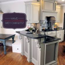 Grey Stained Kitchen Cabinets 17 Best Images About Kitchen Cabinet Finishes On Pinterest Paint