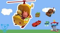 Peppa Pig Spielzeug Cartoon Peppa Wutz & <b>Miss Rabbit</b> Helicopter ...