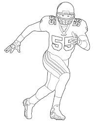 Small Picture Printable Nfl Football Coloring Pages Coloring Pages