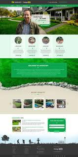 landscape design website templates garden post landscape design website templates