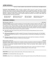 construction superintendent resume sample construction resume construction superintendent resume examples