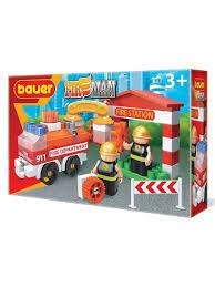 Детская развивающая игрушка <b>конструктор Пожарная</b> часть ...