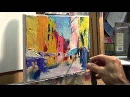 How to Oil <b>Paint</b>: Tips, tricks with the <b>palette</b> knife - YouTube