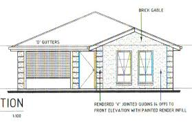 Building a Spec HomeHere    s a couple of pictures of the house plans for those of you interested  click on them for bigger images