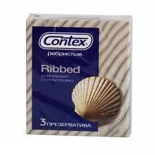 Контекс <b>презервативы ribbed ребристые</b> №3