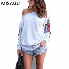 Sweatshirt <b>Women</b> Casual Spring <b>Autumn</b> Plain Clothing Tops ...