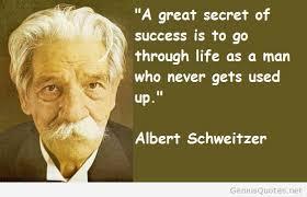 Albert-Schweitzer-Secret-quote.jpg via Relatably.com