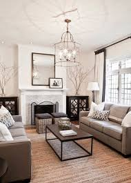 warm small living room design