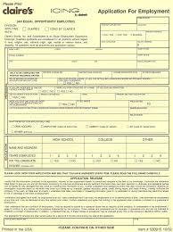 claire s application print out claire s employment application claire s application print out claire s employment application form printable online