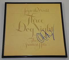 <b>Three Dog</b> Night <b>Joy</b> to the World Chuck Negron Hand Signed ...