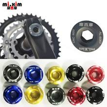 mountain mtb bike front rear derailleur titanium allen hex tapered head bolts screw m5x9mm 2pcs