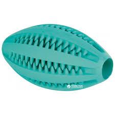 Отзывы о <b>Игрушка</b> для собак <b>Мяч регби</b> Denta Fun Mintfresh <b>Trixie</b> ...