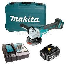 Аккумуляторная углошлифовальная машина <b>Makita</b> DGA504RF