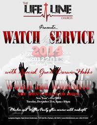 life line watch night service church blast