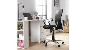 Buy Argos Home <b>Mesh</b> Mid Back Ergonomic <b>Office Chair</b> - Black ...
