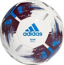 <b>Мяч футбольный Adidas Team</b> Sala, CZ2231, белый, синий ...