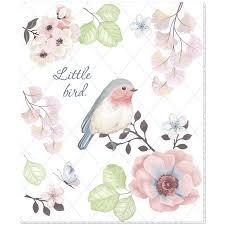 <b>Тетрадь</b> общая <b>№1 School</b> Little Bird, А5,48л, скрепка, УФ-лак