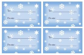 printable templates holiday snowflake gift tags treat and snowflake on blue sky printable holiday gift tags