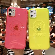ottwn <b>Fluorescent Color</b> Girl Boy Pattern Phone Cover For iPhone ...