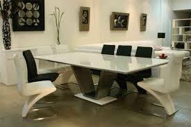 round white marble dining table: chic white marble top dining table exclusive dining tables hero widhei