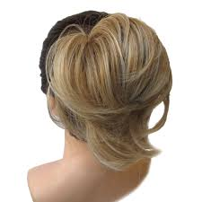 jeedou natural hair chignon synthetic donut two plastic comb easy fast bun coque cabelo brown hairpiece pad