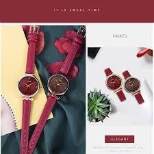 <b>Female</b> Watches Luxury <b>Brand SMAEL</b> Quartz Wristwatches ...
