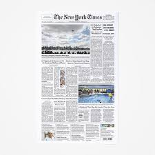 <b>New</b> York Times Front Page <b>Reprints</b> – NYTStore