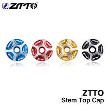 2019 <b>ZTTO MTB Bicycle Headset</b> Stem Top Cover Cap Fork 1 1/8 ...