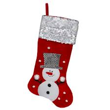 "Northlight 20.5"" Red And White <b>Snowman</b> Embroidered <b>Christmas</b> ..."