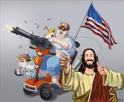 My new favorite stereotype of America. : funny via Relatably.com