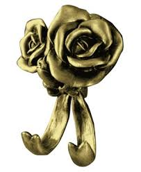 <b>Крючок двойной Art&Max</b> ROSE AM-0912-B (AM-B-0912-B)
