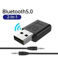 <b>LEEHUR USB Bluetooth</b> 5.0 Transmitter Receiver Stereo 3.5mm ...