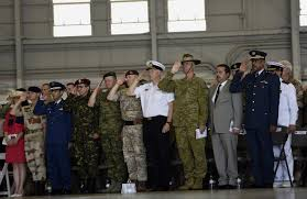 centcom socom have new leaders after historic change of command members of the foreign military salute during the centcom change of command ceremony wednesday at macdill