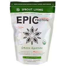 Sprout Living, <b>Epic Protein</b>, <b>Organic Plant</b> Protein + Superfoods ...