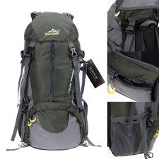 (oce)<b>50L Climbing</b> Outdoor Travel Backpack Sport Camping Hiking ...