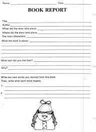 book report outline  th grade http   teacherweb com CA PomeloDriveElementary Pinterest