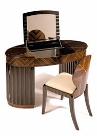 contemporary art deco style carrington dressing table by shilou furniture art deco furniture style art