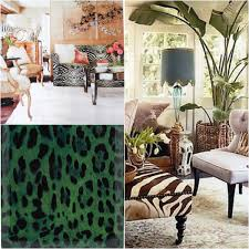 Leopard Print Living Room The Fiercest Animal Print Inspirations For The Home Elle Decoration