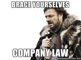 Brace yourselves Company Law - Brace yourself | Meme Generator via Relatably.com