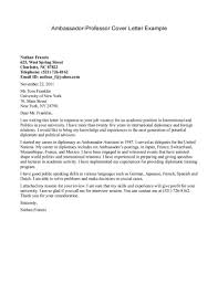 online adjunct faculty cover letter cover letter example sample college professor cover letter