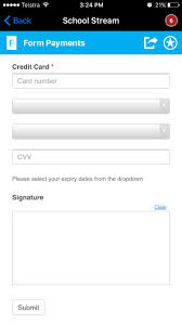 create custom payment forms for anything school stream form payments screen