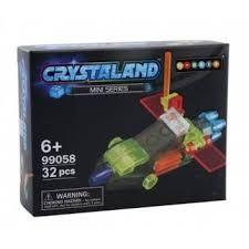 <b>Конструктор</b> Crystaland Беспилотный <b>самолет</b> 27 деталей <b>N</b> ...