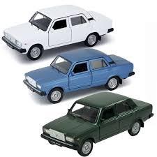 Купить <b>модель машины Welly</b> 1:34-39 Lada 2107 цвет в ...