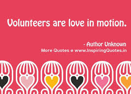 International Volunteer Day Quotes - Volunteer Quotes and Sayings ...