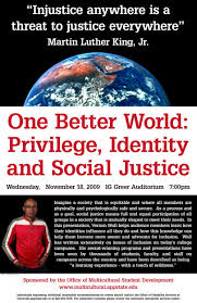 videos diversity and inclusion at appalachian appalachian one better world privilege identity and social justice fall 2009