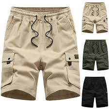 Sports Pants Gym Cargo Beach Shorts <b>Mens Summer</b> New <b>Simple</b> ...