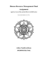 hrm final ass apple human resource management assesment