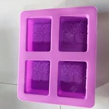 Multi-purpose Life Tree Shading Silicone DIY Handmade Soap Mold ...